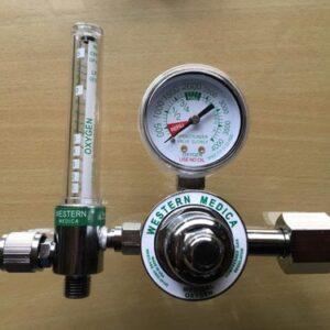 manometro de oxigeno con flujometro
